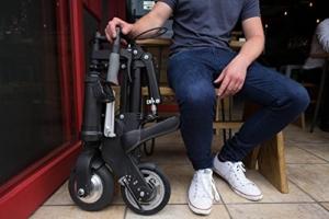 A-Bike Elektro Klapprad Falvorgang