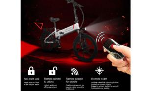 E-Bike Klapprad elektronsiche Verriegelung